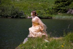Padme picnic gown by GrimildeMalatesta