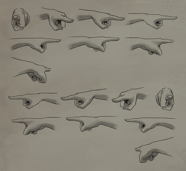 Pointing Rotation Reference Sheet by Atropicus
