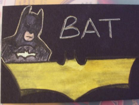 Batman ATC by cherith