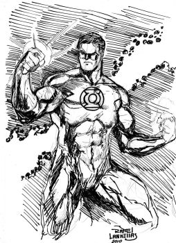 Green Lantern by rllas
