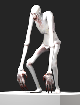SCP-096 by GoldenMech