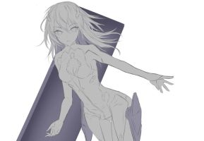 WIP - Lacia (Beatless) by Fhilippe124