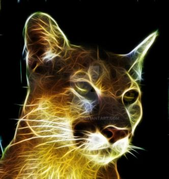 Fractalius Cougar by SarahPaine