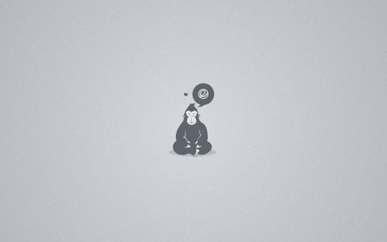 Elementary Thoughts [Wallpaper] by rhoconlinux
