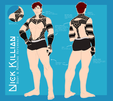 AFH: Nick's Body Reference (2018) by NanoColors