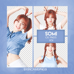 [PNG PACK #66] SOMI by fairyixing