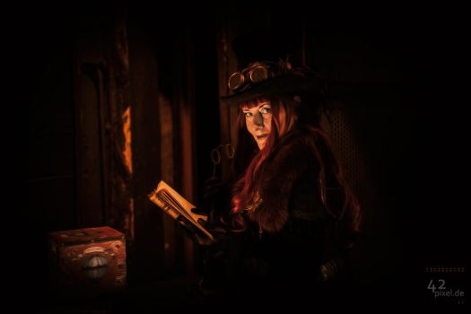2nd Steampunk.Shooting.Zeche.Hannover.2016.002 by 42pixel