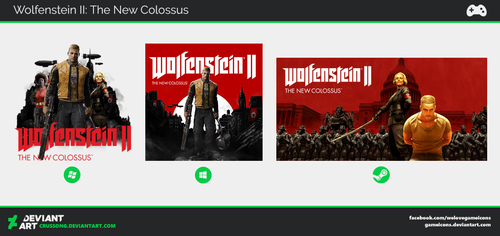 Wolfenstein II: The New Colossus - Icon by Crussong