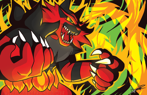 incineroar by NearTARC