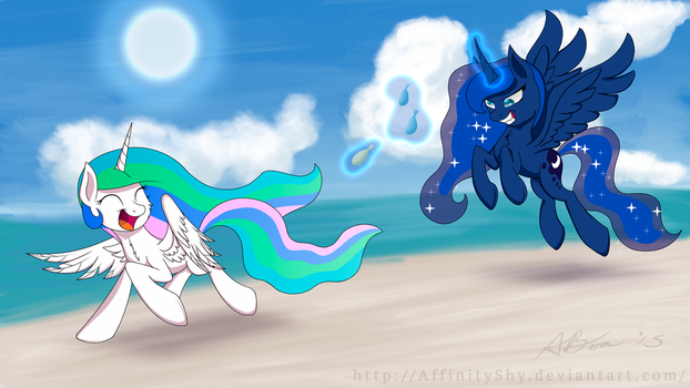 Fun in the Sun (SummerSolstice) by AffinityShy