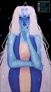 Sapphire + Pearl Fusion [Speedpaint] by H0nk-png