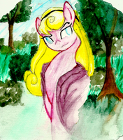 BriarRose Painting by PitterPaint