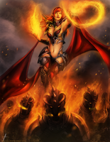 Burning Mistress by OOQuant