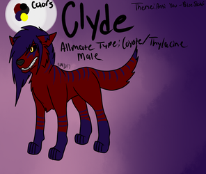Clyde Reference by KokoroMiracle250
