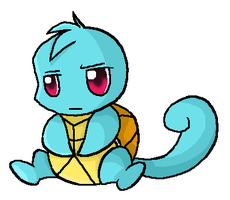 007. Squirtle by ChibiTigre