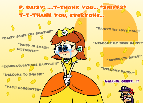 Princess Daisy in Smash Ultimate by Jack-Hedgehog