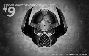 Random Helmet examples No9 by LawrenceMann
