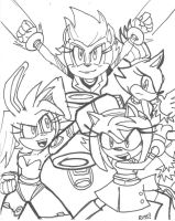 Sonic Boom girls by rugdog