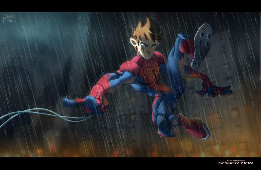 The Amazing Spiderman by Javas