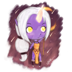 Soraka Chibi :D League of Legends by Pirranah-HyddenSky