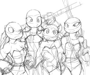 Tmntsketch2 by SF-fun