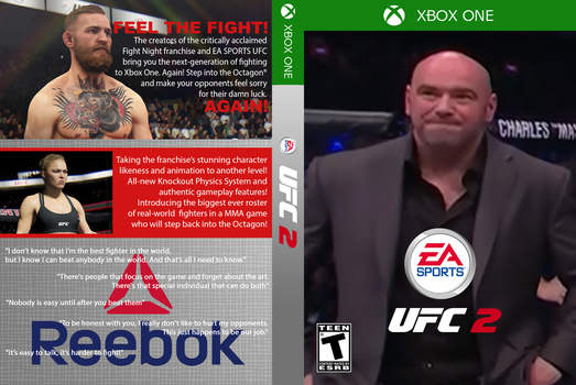 EA Sports UFC 2 XBOX ONE Sad Dana Edition by monoheel