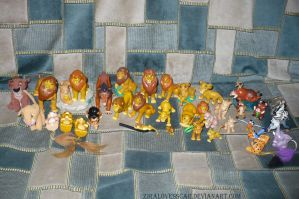 The lion King FIGURE'S by ZiraLovesScar