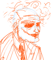 4 minute sketches: Joker by Johnny-A-Wall