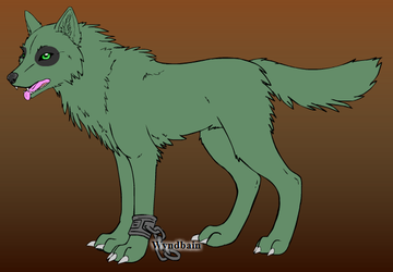 Leatherhead the Wolf by neneh2000