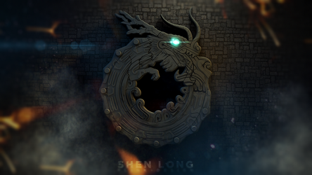 Shen Long - Ouroboros by Flink-Design