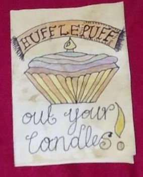 Hufflepuff out your candles!!! by carrie-lou