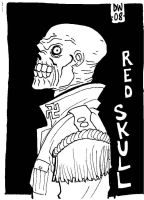 RED SKULL by dadicus