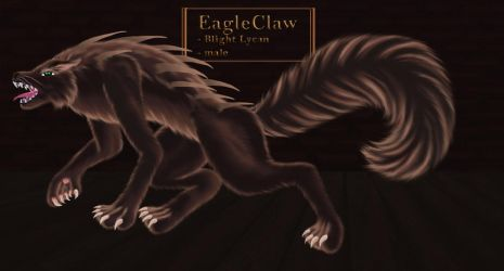 EagleClaw (lycan form) - COSAM by LadyAlluvia