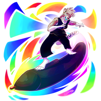 Surfin' the Arts by TJ-360