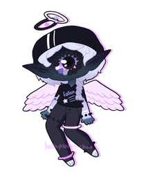 [ floaty angel ] by hello-planet-chan