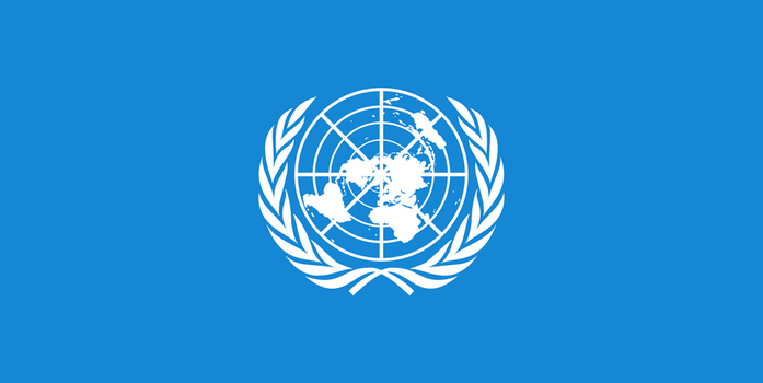 Flag of the United Nations by JMK-Prime