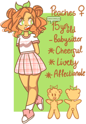 Peaches 2018 Reference by ChocoHoliq