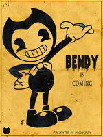 Bendy and the Ink Machine - Bendy 02 by theEyZmaster