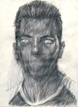 ME without mouth by BADrawing