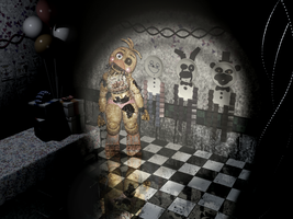 Five Nights at Freddy's 2- Toy Chica -images 01 by Christian2099