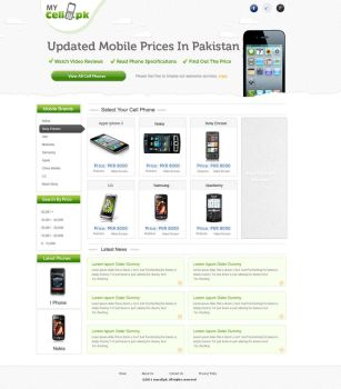 mycell.pk by aadi-f