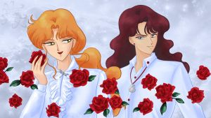 Lord Zoisite and Lord Nephrite by gersimy