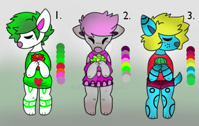 CHEAP 5 POINT ADOPTS (CLOSED) by Jeclahay