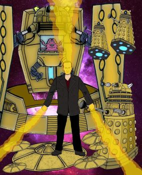 Doctor Who - The Parting of the Ways by mikedaws
