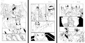 Inhuman Self inks pgs 1 2 3 by Peter-v-Nguyen