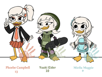 DuckTales OCs by MexCraziness