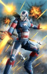 Iron Patriot by ferryo