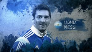 Lionel Messi Wallpaper by RakaGFX
