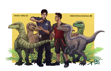 Jurassic Malec by spider999now