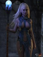 The Elf Mage Pic 01 by LayLo3D